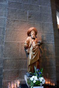 La statue de St-Jacques