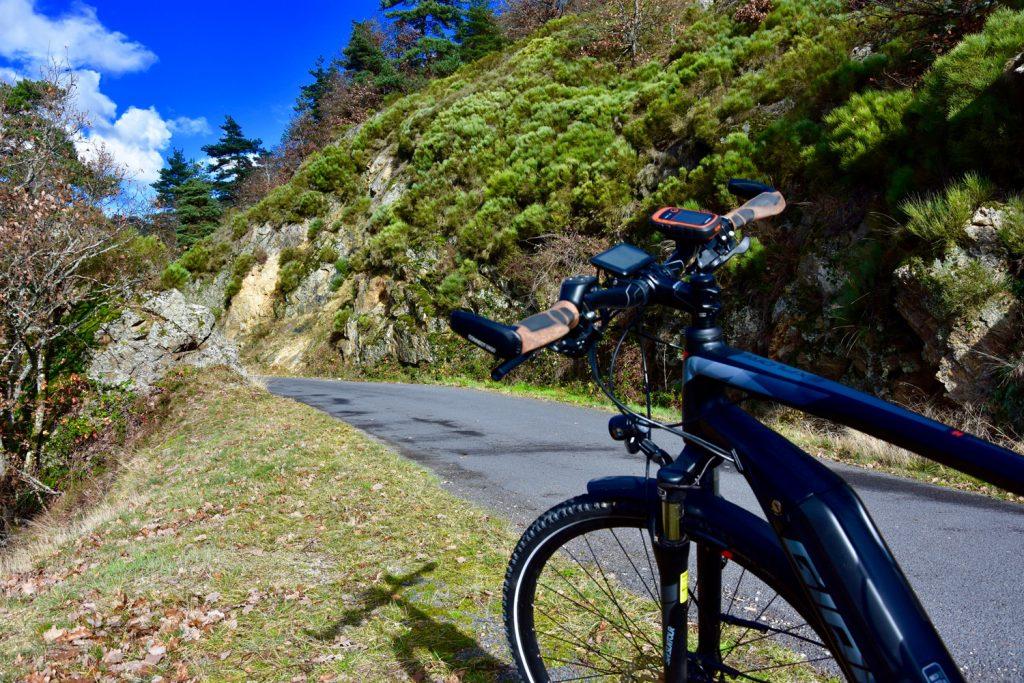 Ballade en vélo électrique de Chanteuges à Loudes