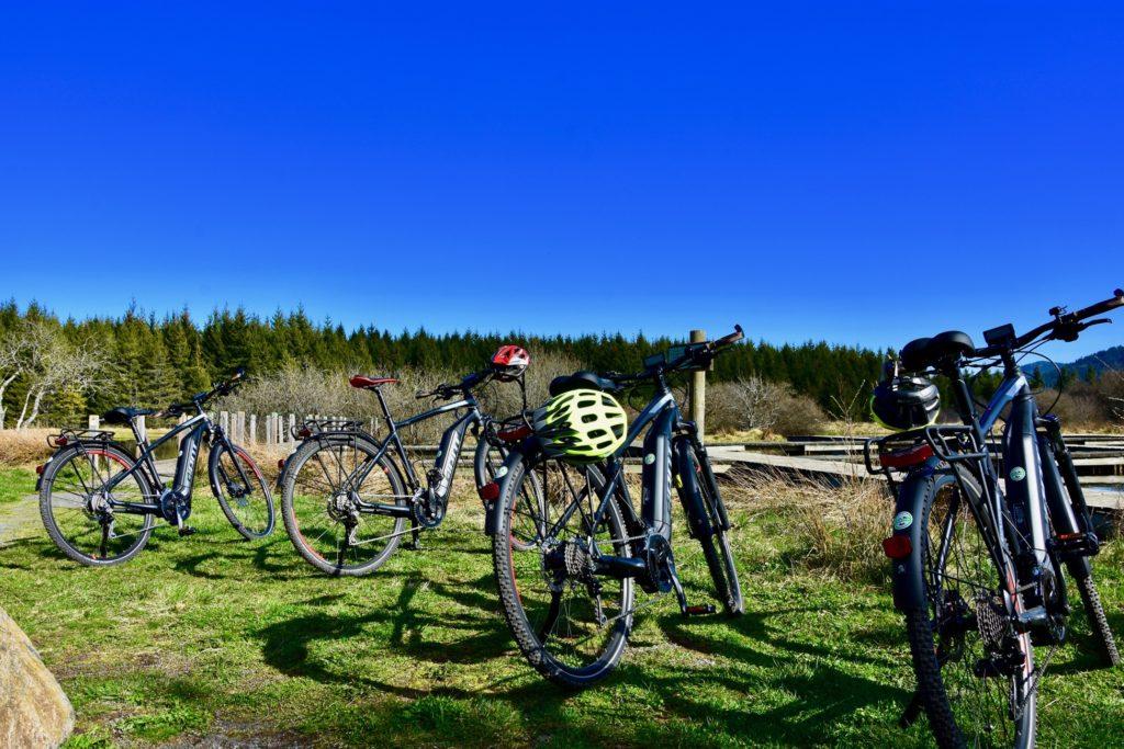 Sortie à vélo électrique en Haute-Loire - Etang des Barthes