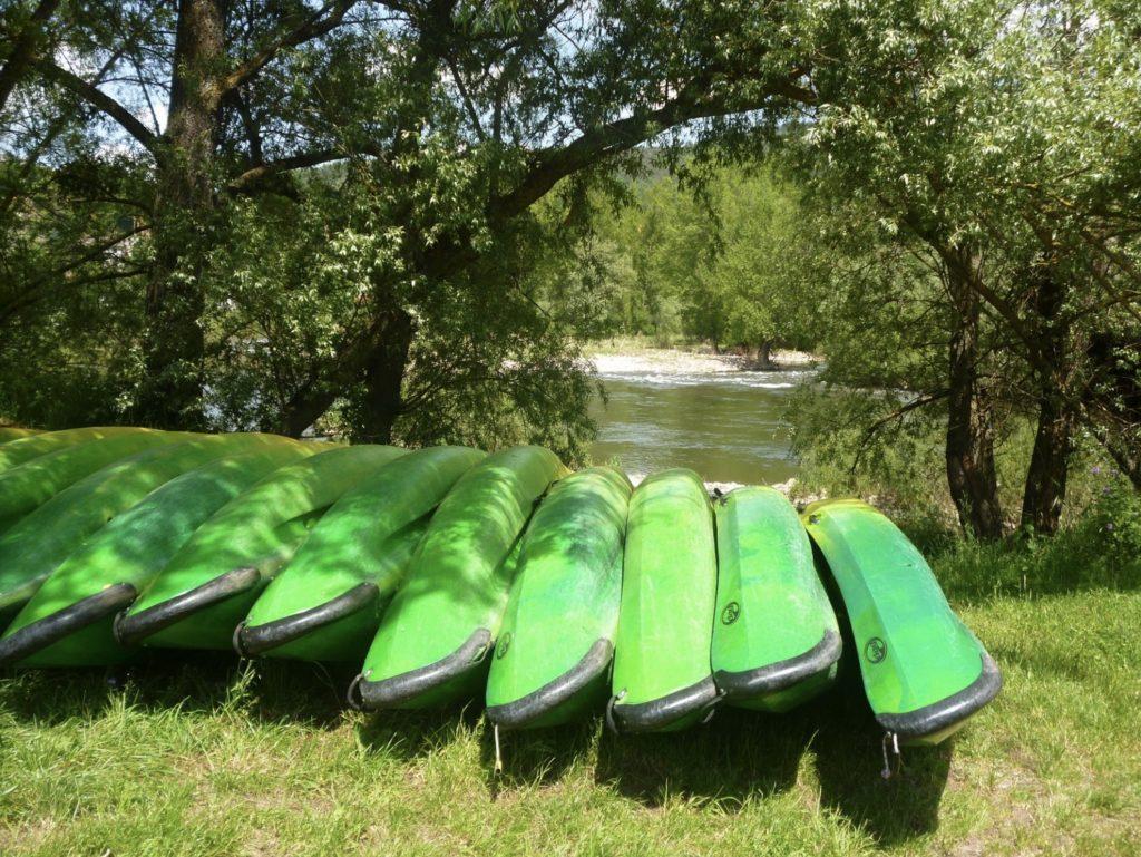 Descente de la Loire en canoë